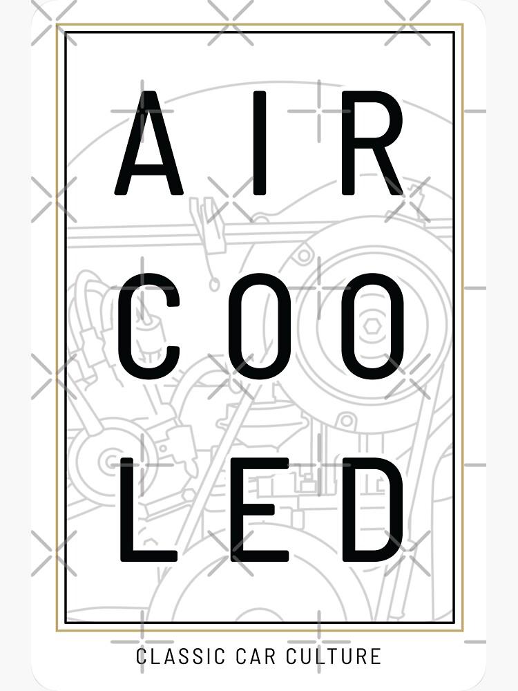 Aircooled Engine - Classic Car Culture by Joemungus