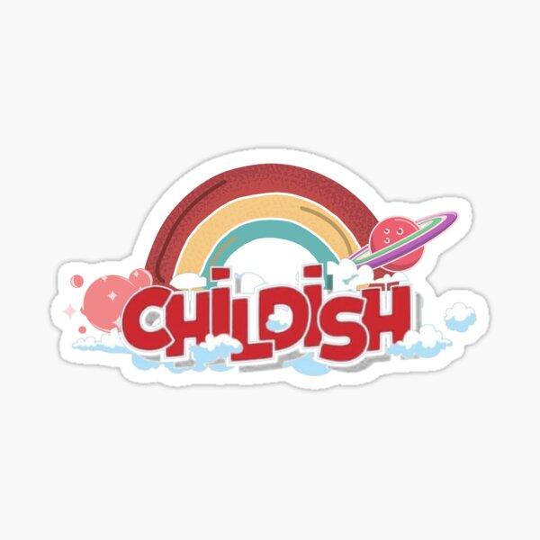 Tgf Childish Sticker