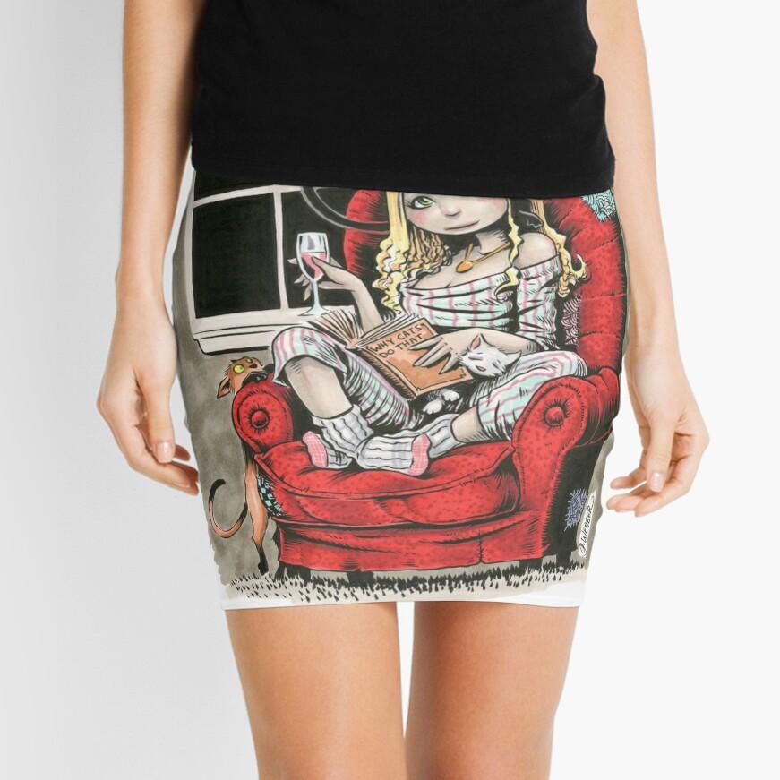 CATS Mini Skirt