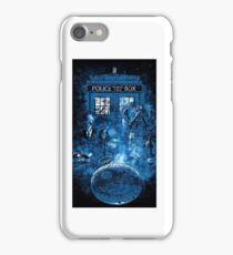 Doctor Who Villians And Tardis iPhone Case/Skin