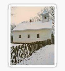 OLD CHURCH,CADES COVE Sticker