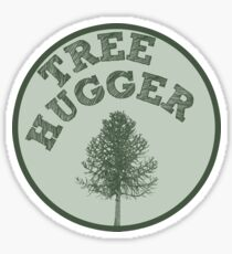 Tree Hugger Sticker