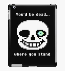 undertale iPad Case/Skin