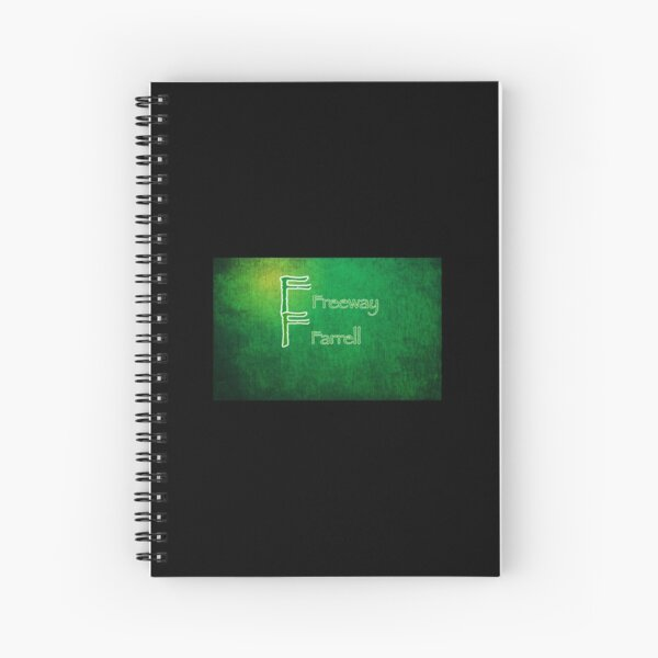 Logo all green  Spiral Notebook
