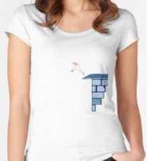 Leap of Faith - Prince of Persia Women's Fitted Scoop T-Shirt