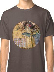 Whimsical Pisces Woman Renaissance fishing Gothic Classic T-Shirt