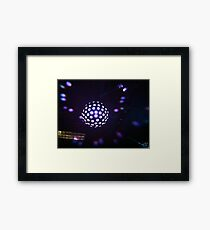 Disco Ball Framed Print
