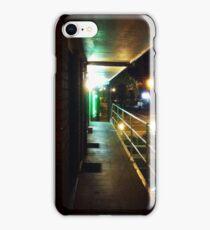Motel balcony iPhone Case/Skin