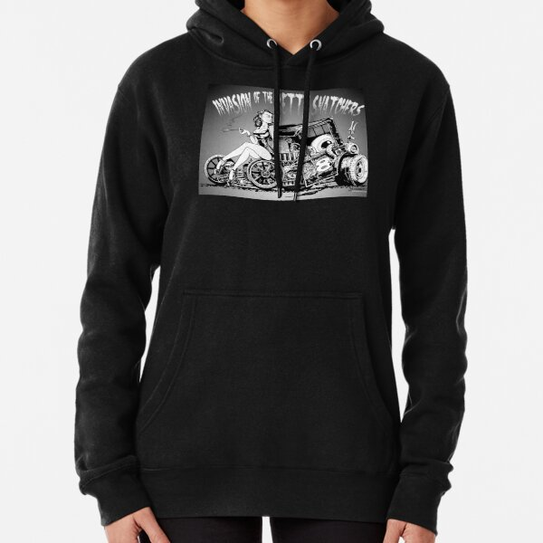 Invasion of the Betty Snatchers Pullover Hoodie