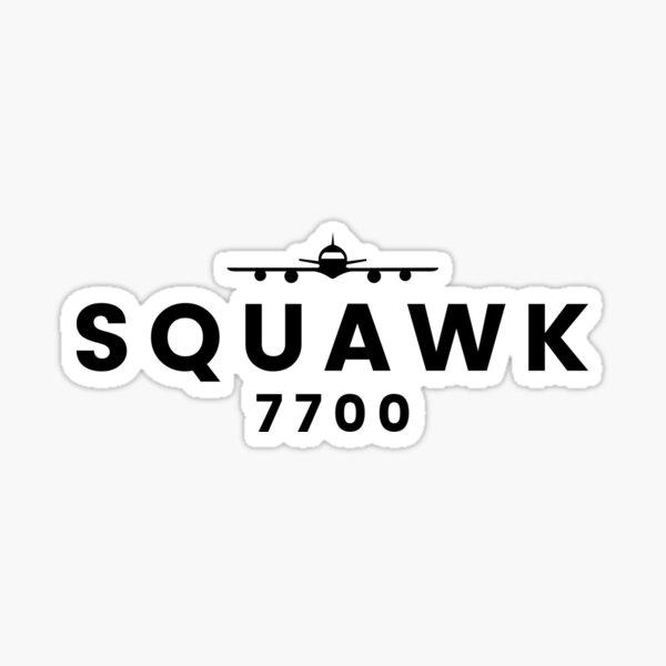 Squawk 7700 Sticker