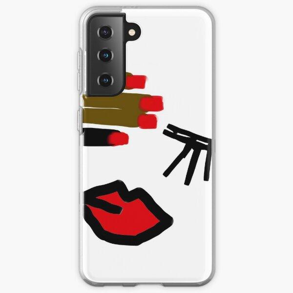 rojo Samsung Galaxy Soft Case