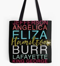 Hamilton's Shot Tote Bag