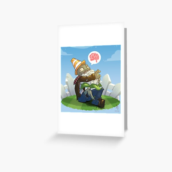 0009 - Vegan Braaaiinsss Greeting Card