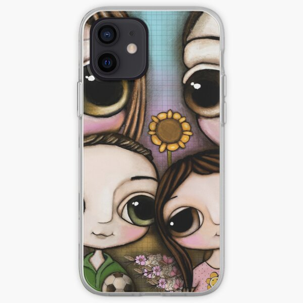 The Lovely Family with two chihuahua and the  iPhone Soft Case