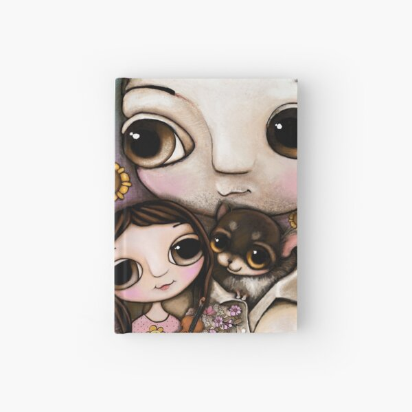 The Lovely Family with two chihuahua and the  Hardcover Journal