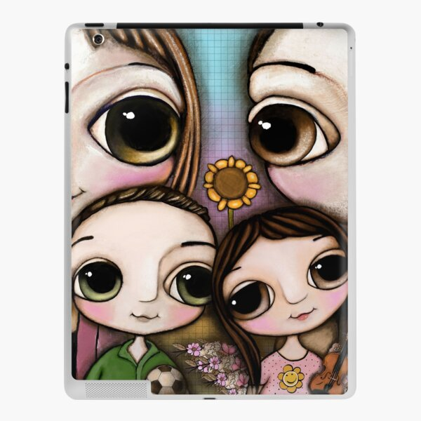 The Lovely Family with two chihuahua and the  iPad Skin