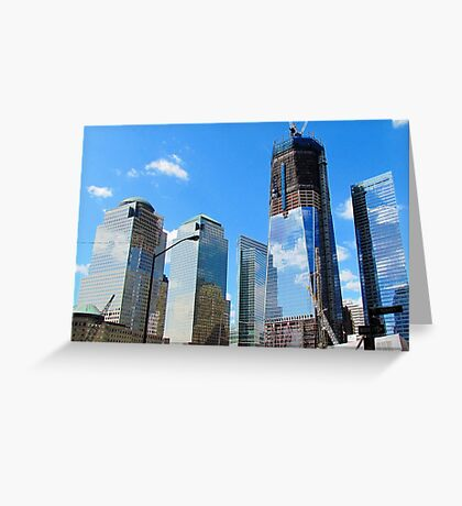 Freedom Tower - New World Trade Center, New York City Greeting Card