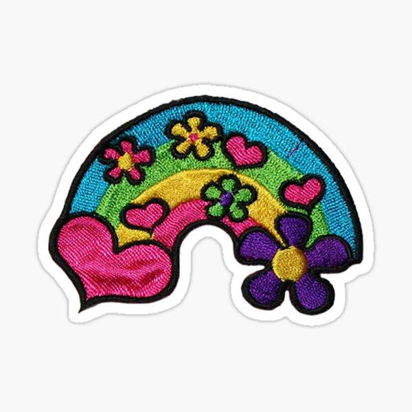 Rainbow Iron On Patch Sticker