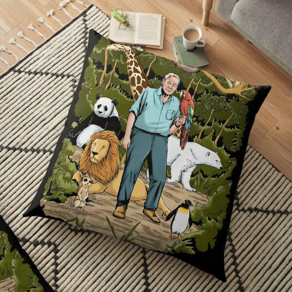 David Attenborough - Save Our Planet  Floor Pillow