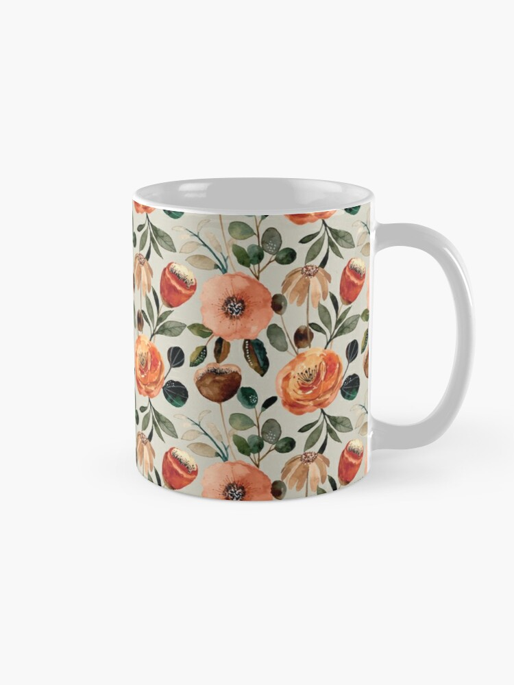 Alternate view of  Fall Floral Mug