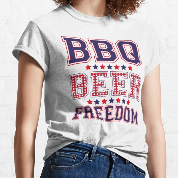 BBQ BEER FREEDOM Classic T-Shirt