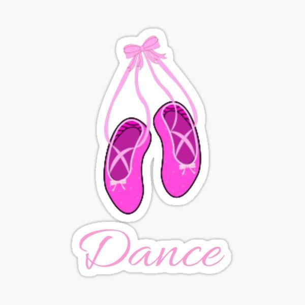 Dance (a ballet education) Sticker