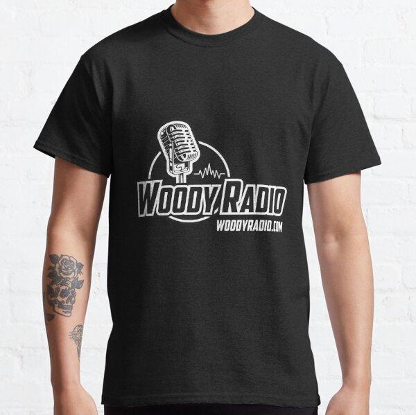 Woody Radio Logo for Dark Backgrounds Classic T-Shirt