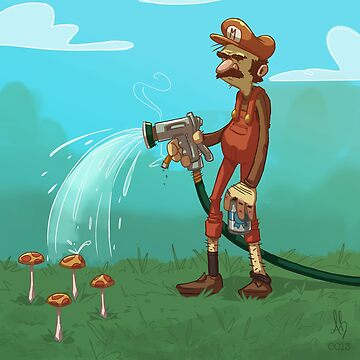 0013 - Uncle Mario by brownbair