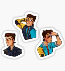 Rhys Tales from the Borderlands Sticker Set Tftbl Sticker