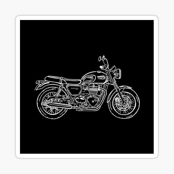 Triumph Bonneville T100 motorcycle Sticker
