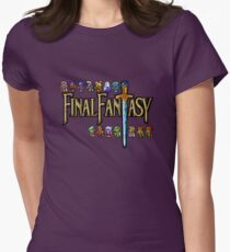 Game of Roles Womens Fitted T-Shirt