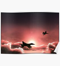 Fly Navy Poster