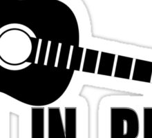 Rock Music Inspirational Johnny Cash Sticker