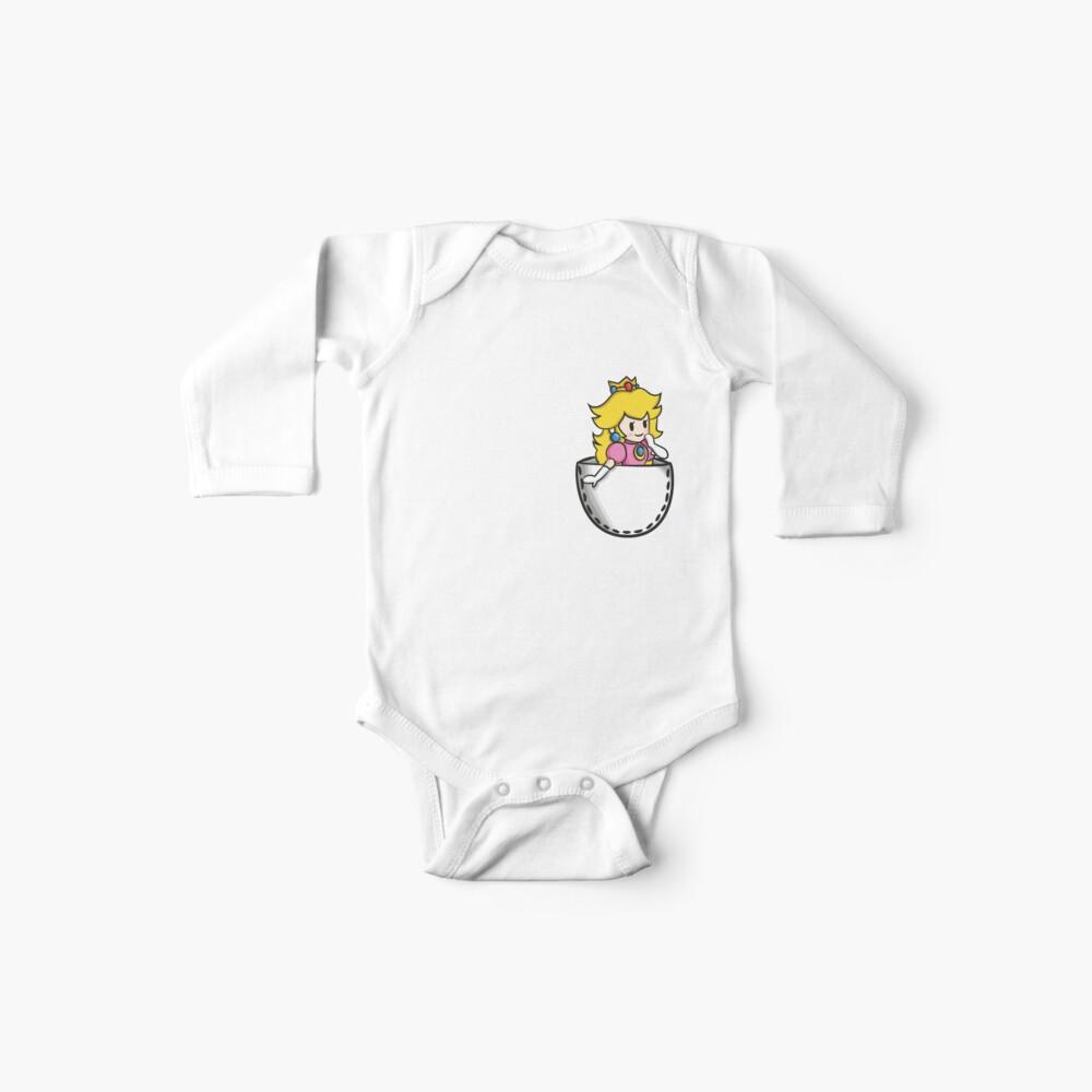 Taschenpfirsich Baby Bodys
