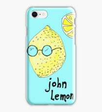 John Lemon iPhone Case/Skin