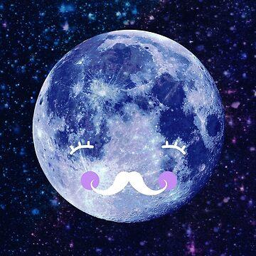 Gute Nacht Mond von MartaOlgaKlara