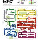 Metroid Metro - NES Maps Series by dcmjs