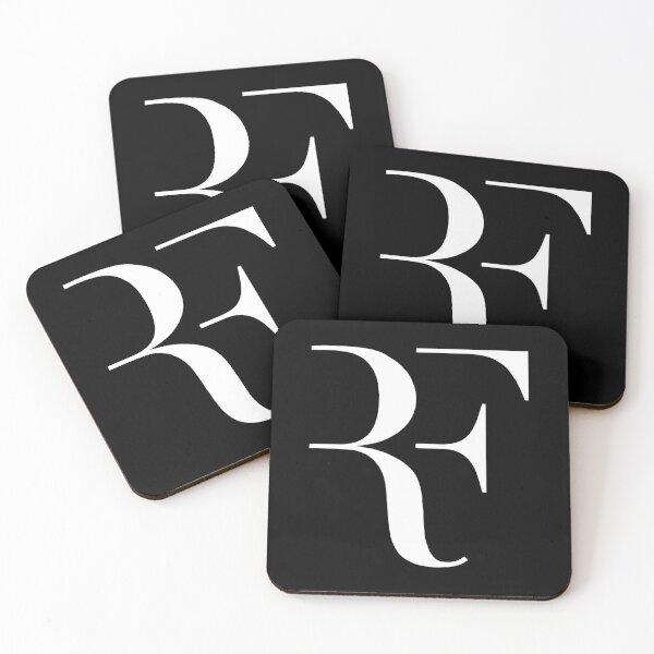 Best Selling - Roger Federer Logo Coasters (Set of 4)