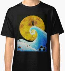 Simply Meant To Be Acrylic Painting Classic T-Shirt