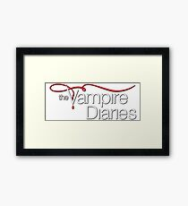 Vampire Diaries Framed Print