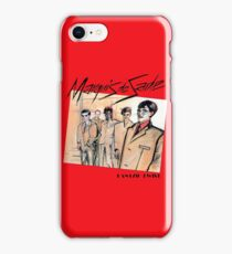 Marquis de Sade - Danzig Twist iPhone Case/Skin
