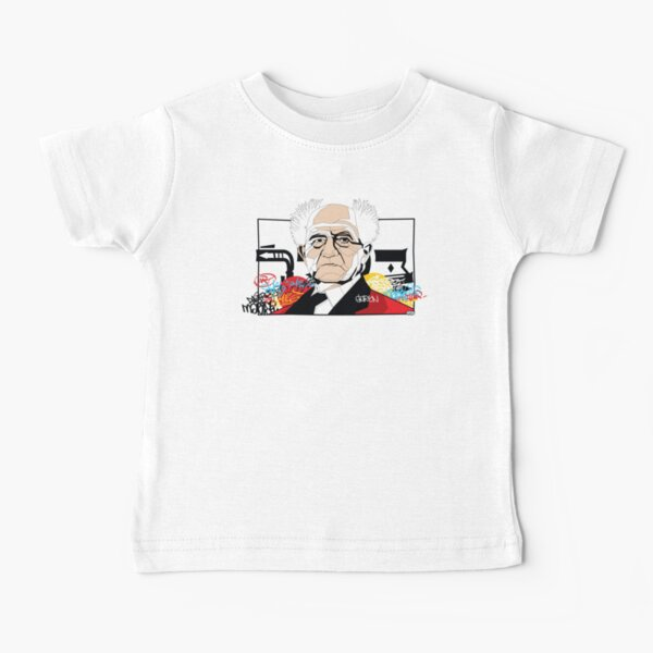 David Ben-Gurion portrait - Pop Art Israeli leader Baby T-Shirt