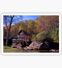 Glade Creek Grist Mill Sticker