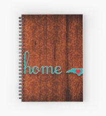 North Carolina Home Love Spiral Notebook
