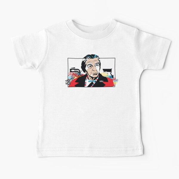 Golda Meir portrait - Pop Art Israeli leader Baby T-Shirt