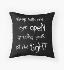 Metallica - Enter Sandman Throw Pillow