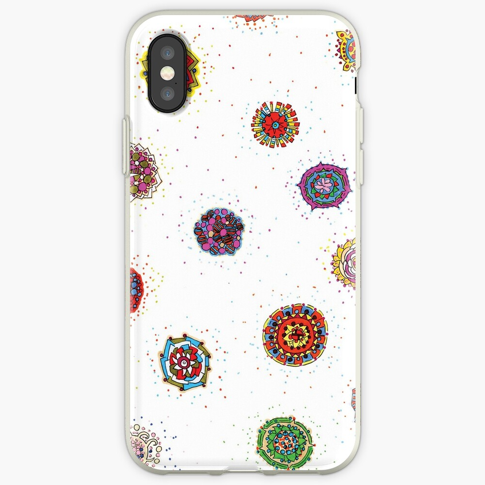 Snap Dragon pattern design iPhone Case & Cover
