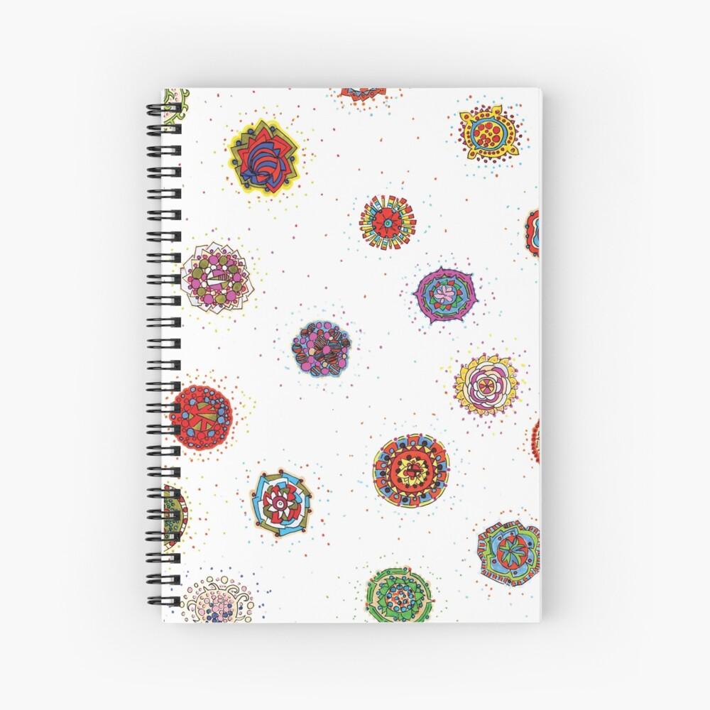 Snap Dragon pattern design Spiral Notebook