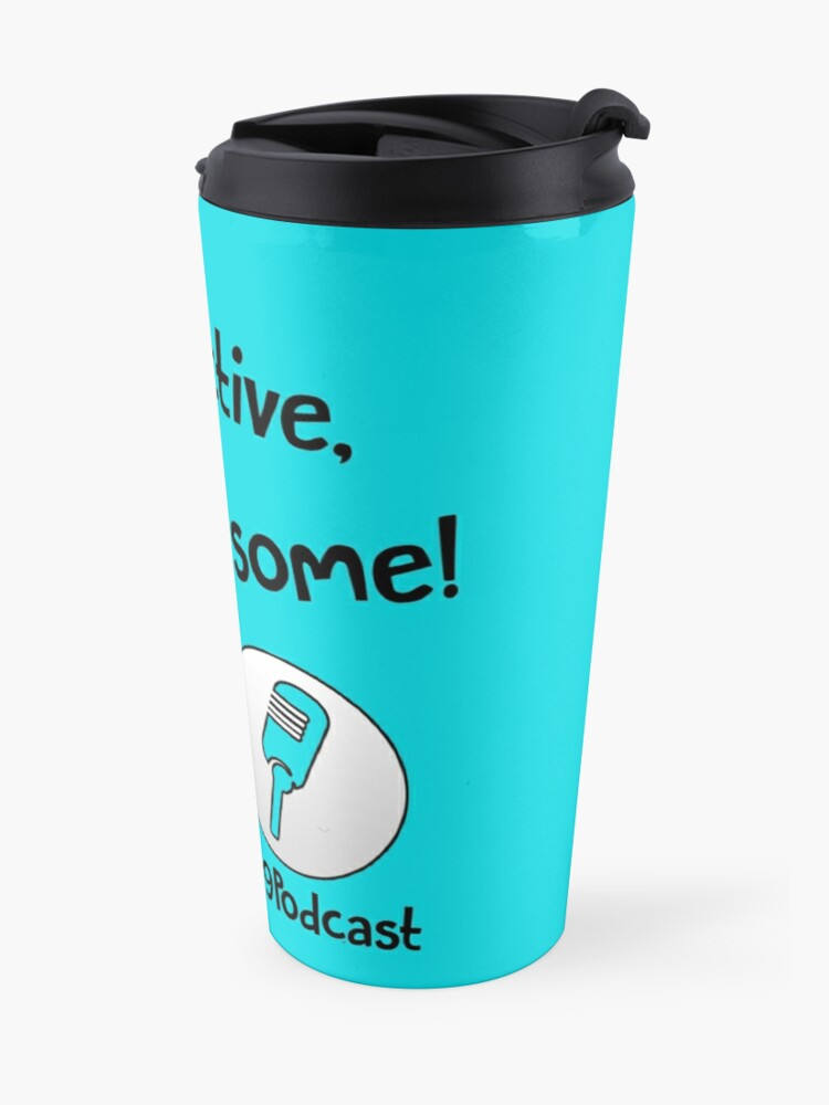 Alternate view of Stay Productive, Stay Awesome - 99% Perspiration Travel Mug