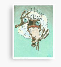 Skeletal Needles: Paleontology Canvas Print